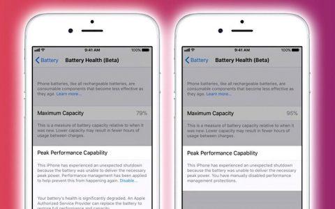 چگونه در iOS 11.3 از سلامت باتری آیفون اطمینان پیدا کنیم؟